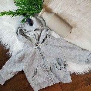 🌿5/$25 Gymboree Gray Dinosaur Jacket | sz 12-18m